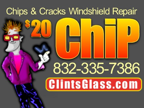 Windshield Rock Chip Repair​ Pearland 77584, 77588, 77581