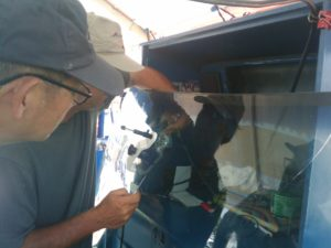 Testing a Windshield Repair