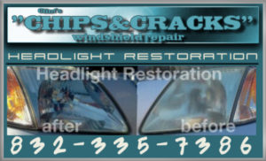 Headlight Restoration Houston Before & After Images