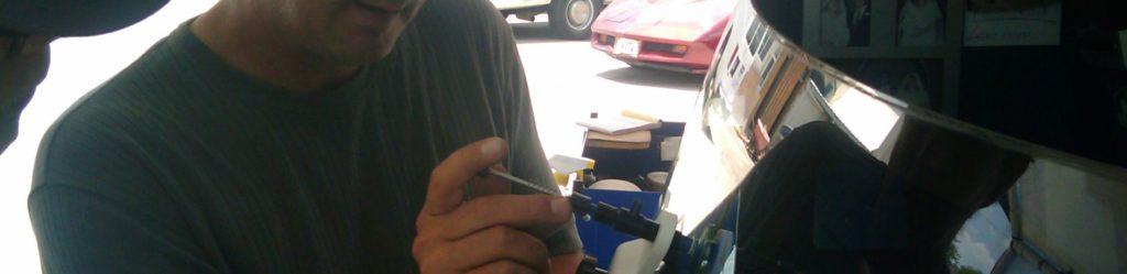 Windshield repair training
