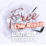Free Rock Chip Repair with approved insurance.