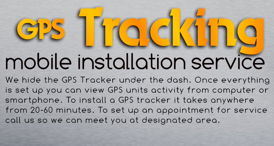 Houston TX GPS Tracking Installation | Install GPS Tracker
