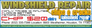 Windshield Repair Houston TX Advertisement